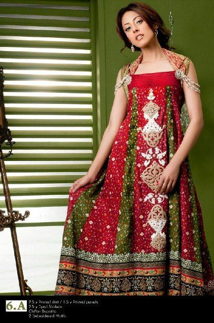 Ayesha Somaya Latest Eid dresses 2012