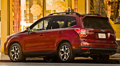 2014 Subaru Forester XT red