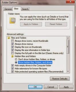 Dua Cara Mengatasi File Folder Hidden di Komputer & Flashdisk