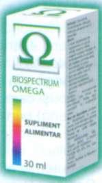 Biospectrum Omega - picaturi revitalizante