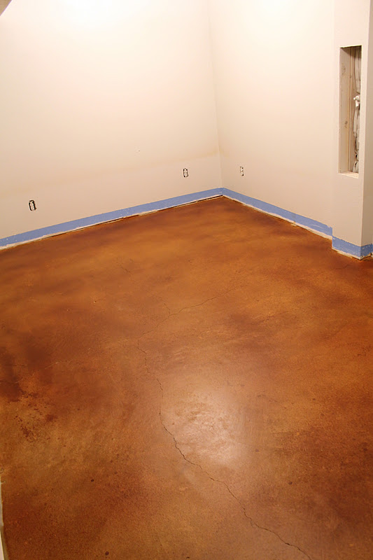 Stained Concrete Floors Outtakes Chris Loves Julia