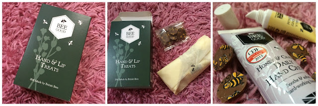 bee good hands and lips treat gift set