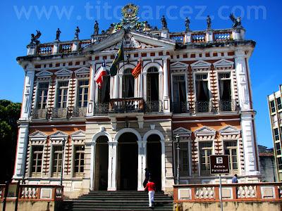 Prefeitura municipal de Ilhéus, no Palácio Paranaguá - Bahia