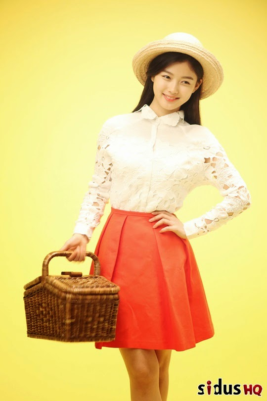 kim yoo jung is a cute and youthful girl for mr pizza justkpop