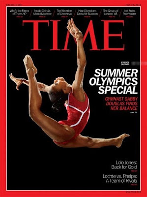 Gabby Douglas on Time Magazine