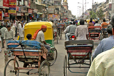Chandni Chowk , Delhi India