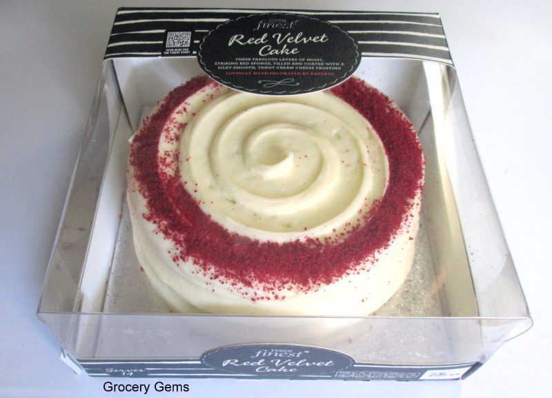 Review Tesco Finest Red Velvet Cake