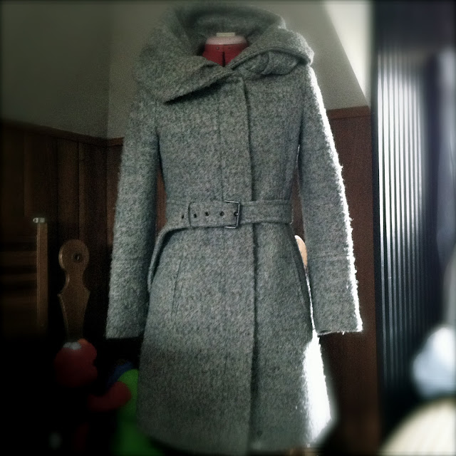 Grey Zara jacket 2010