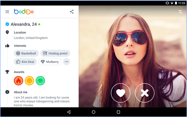 How to add private photos on badoo