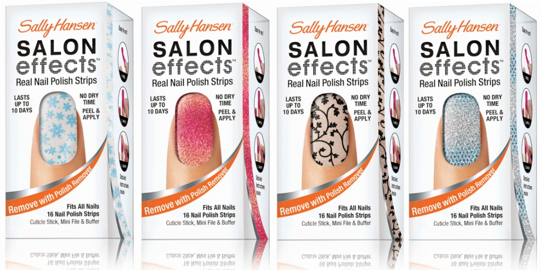 Dress up your nails for the holidays with help from Sally Hansen ...