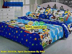 Harga Sprei Doraemon By Fata Jual