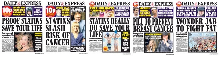statins revolution How much longer will you live if you take a statin about a year ago i submitted a paper to the bmj entitled 'statins in secondary prevention, lives saved or lives extended' to be more accurate, i was the lead author of the paper so i should say 'we' submitted a paper i have to report .