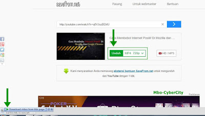 Cara Sederhana Download Video Youtube Tanpa Software
