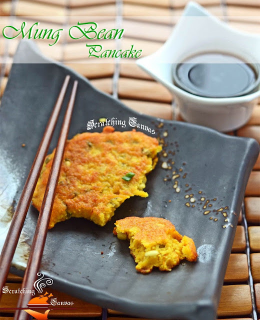 Korean Eggless Pancake