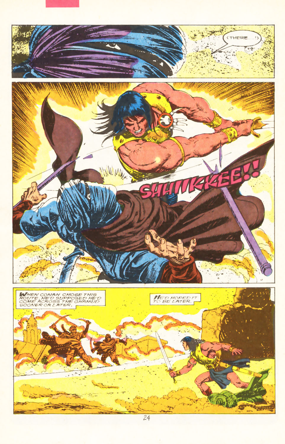 Conan the Barbarian (1970) Issue #211 #223 - English 19