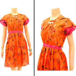 Mode Baju Dress Batik Modern Terbaru 2013