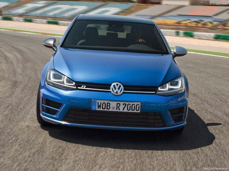 Volkswagen  VW Golf R - Frente de 2014