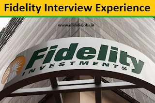 Fidelity Interview Experience