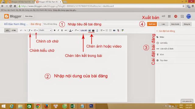 Cách tạo blogspot Google chi tiết