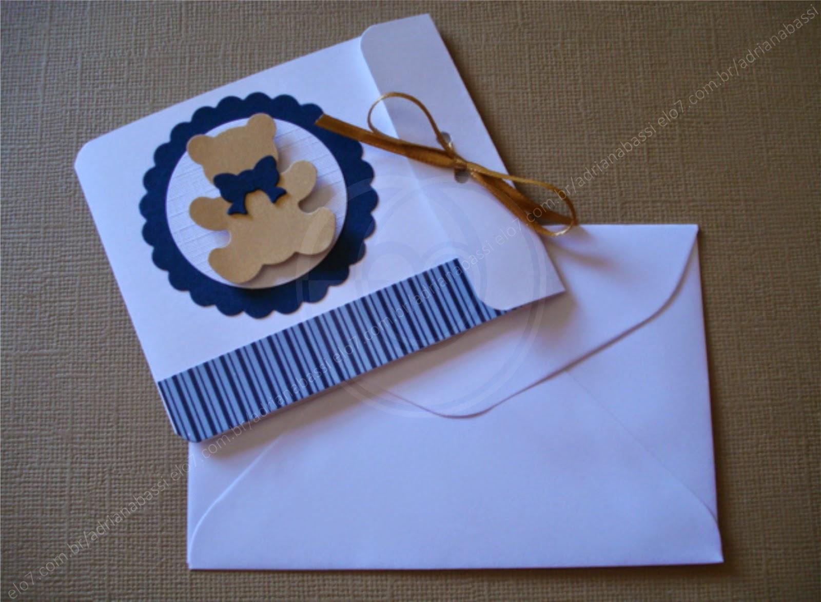 Tag Convite Cha De Bebe Azul E Dourado