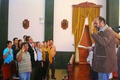 Juramentado Equipo Voluntario Legislativo de la Comisión de Desarrollo Humano del Cleb-Mérida