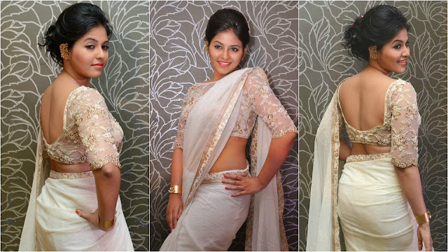 Celebrity saree designs