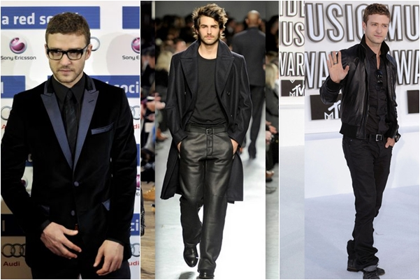 Moda masculina total black