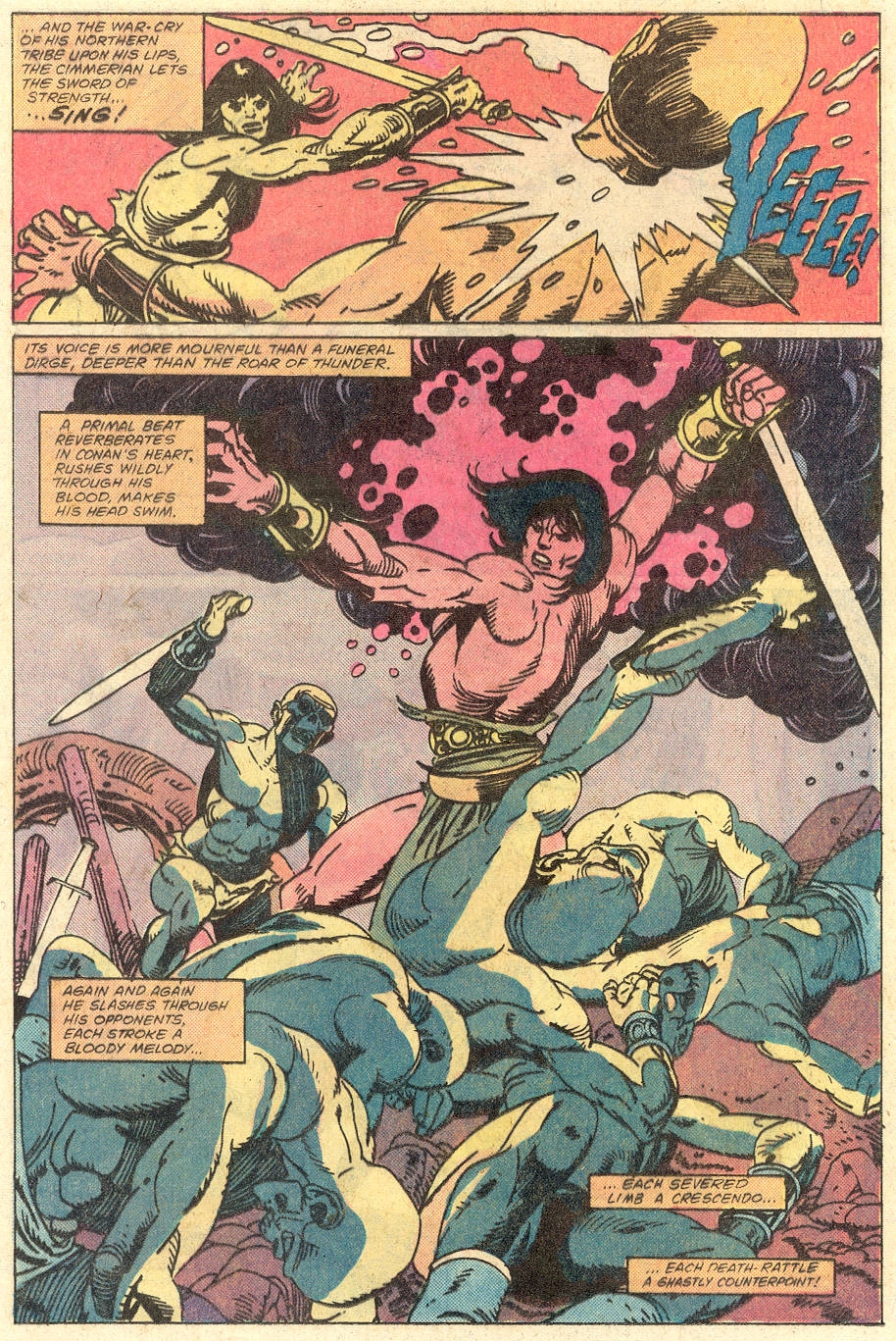 Conan the Barbarian (1970) Issue #129 #141 - English 9