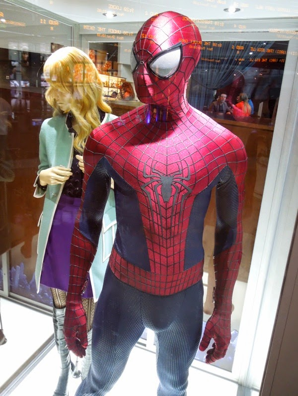 Andrew Garfield Amazing Spider-man 2 suit