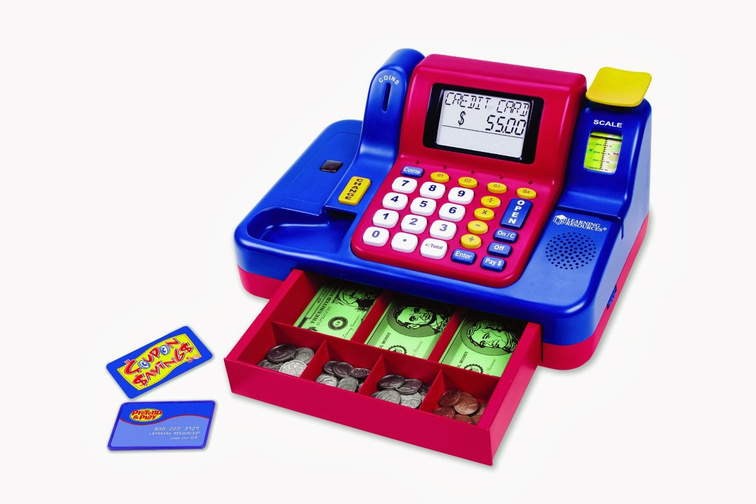 Toy Cash Register : Learning resources teaching cash register best and top