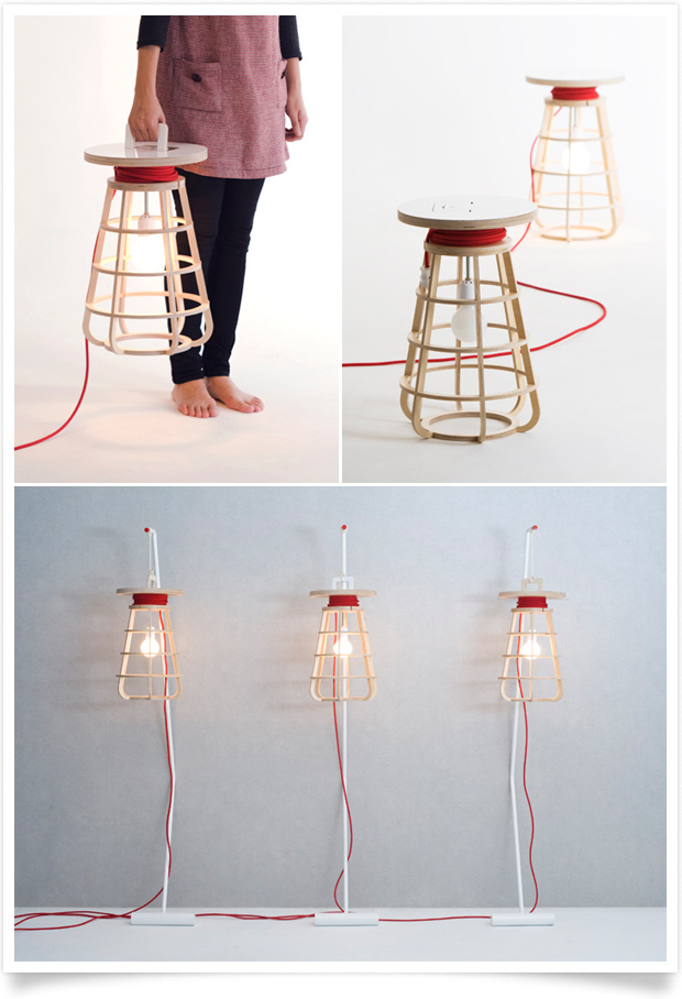Rong Portable Light by Seung-Yong Song