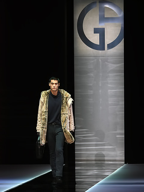 Giorgio Armani men's collection