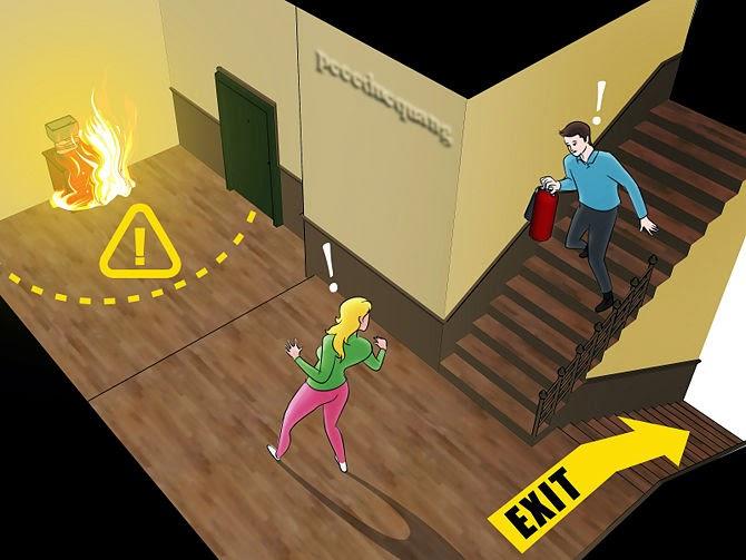 Làm thế nào để sử dụng bình chữa cháy 2