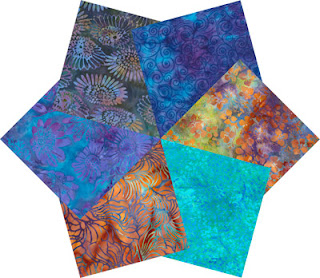Sunset Batiks Fat Quarter Pack