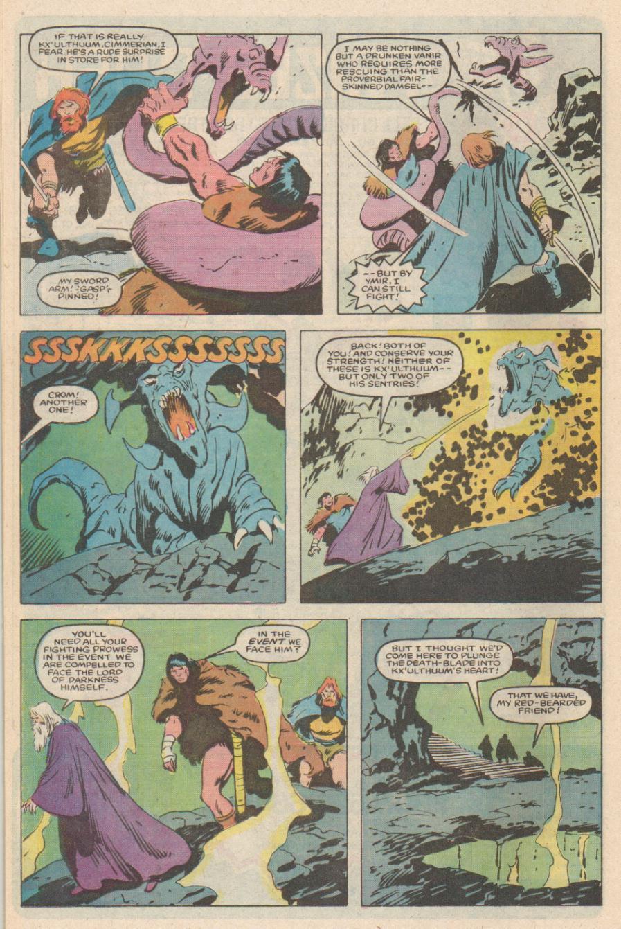 Conan the Barbarian (1970) Issue #170 #182 - English 19