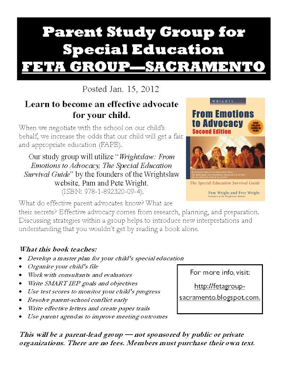 FETA Group Flyer
