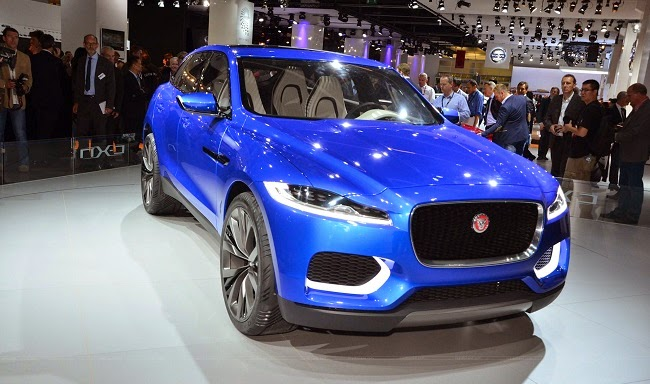 Jaguar CX-17 concept