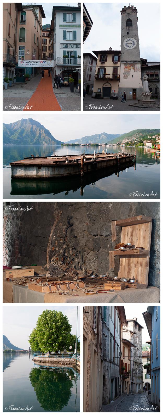 Collage di immagini di Lovere