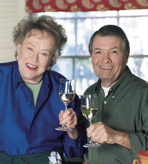 A sunflower life tv gourmet television is my culinary school for Julia child cooking school