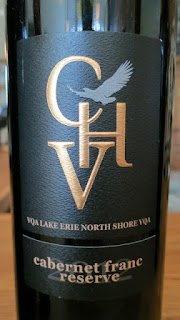 Cooper's Hawk Reserve Cabernet Franc 2012 - VQA Lake Erie North Shore, Ontario, Canada (90 pts)