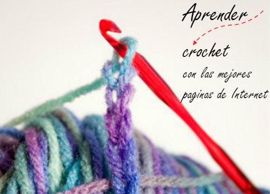 Como aprender crochet o ganchillo desde cero