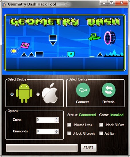 geometry dash for free mod