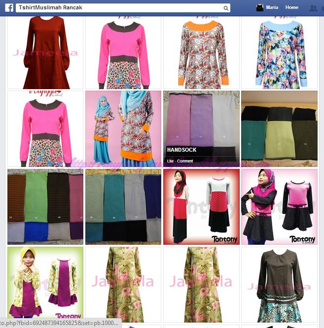 Baju T Shirt Muslimah untuk Ibu Menyusu