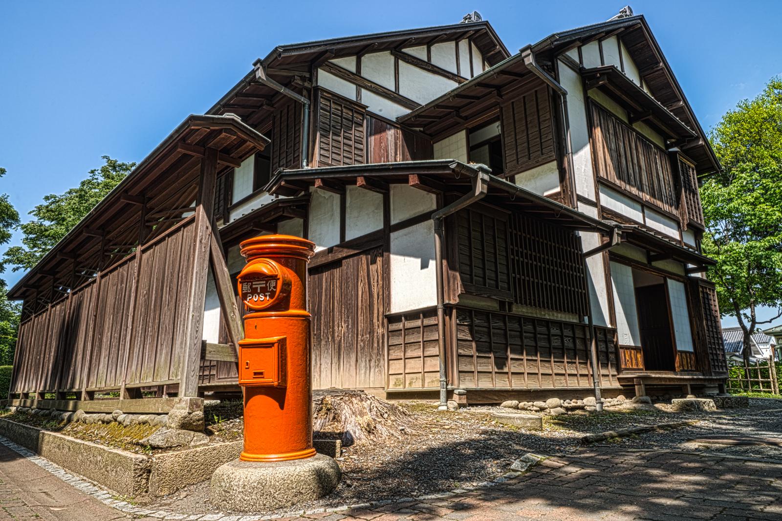 府中郷土の森博物館、府中郵便取扱所のHDR写真