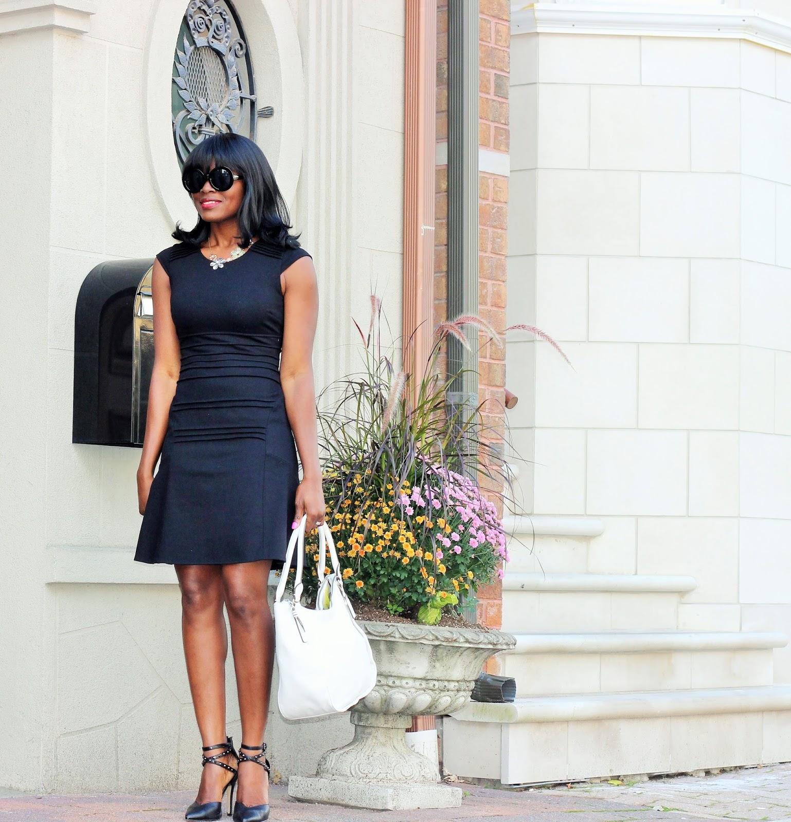 Classic Black Dress by Jennifer Lopez