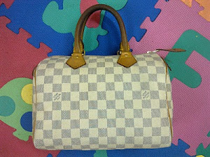 Louis Vuitton Damier Azur Speedy 25 Bag(SOLD)