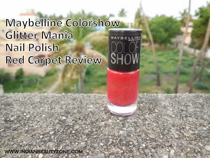 Maybelline nail paints