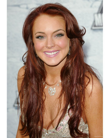Brown Hair Color on Red Hairstyles  Red Hair Color