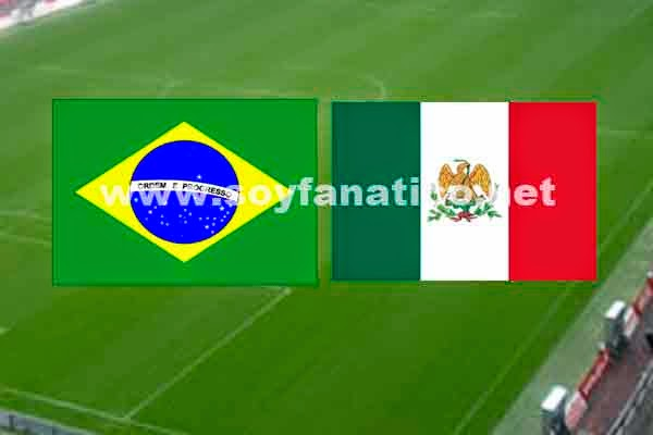 Brasil vs Mexico Mundial Brasil 2014
