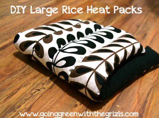 diy rice heat